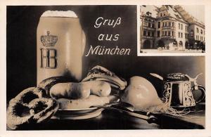 Gruss aus Muenchen Hofbrauhaus, Food on Table