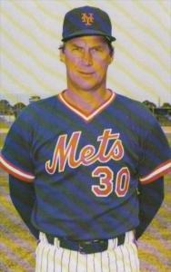 Baseball Mel Stottlemyre Coach 1986 New York Mets