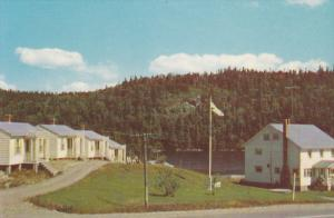 River View Cottages, Salmon River Bridge, Jeddore, Nova Scotia, Canada, 40-60's