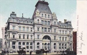 Federal Building and Post Office Boston Massachusetts 1911