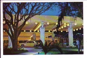 Statues, Entrance Kapok Tree Inn, Madeira Beach, Florida,