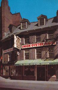 Onion Oyster House, Inc., BOSTON, Massachusetts, 40-60's