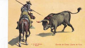 Bull Fight , Mexico , 1900-10s ; Corrida de Toros: Suerto de Vara