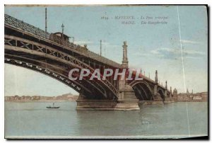 Modern Postcard Mainz Mainz Main Bridge Die Hausbruch