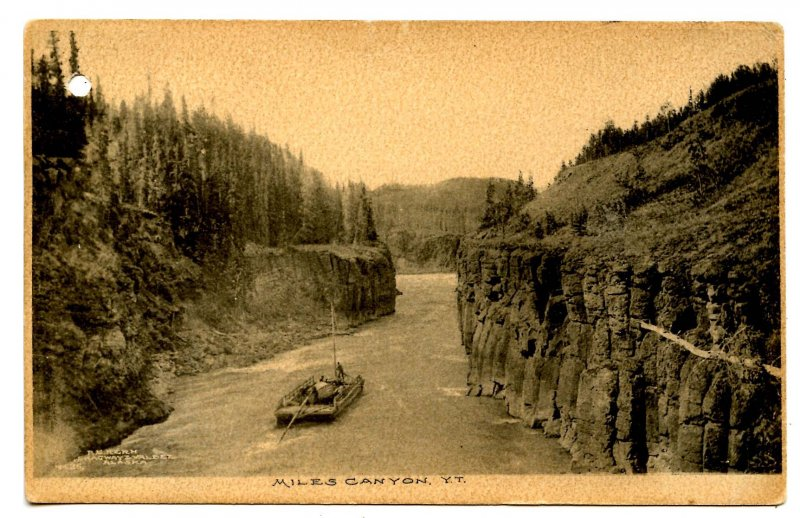 Canada - Yukon Territory. Miles Canyon