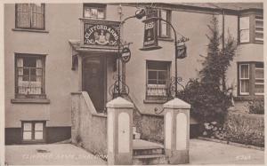 The Clifford Pub Shaldon Valentines Vintage Postcard