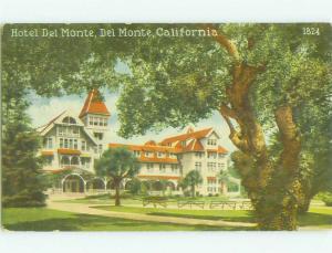Divided Back DEL MONTE HOTEL Del Monte - Monterey California CA HQ5225