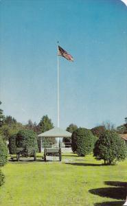 Main Flag Pole, Army Camps, FORT BRAGG, North Carolina, 40-60´