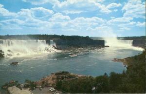 General view of Niagara Falls, from Canada unused Postcard