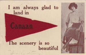 Pennant Series Felt Canaan New Hampshire 1912