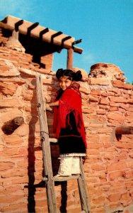 Arizona Hopi Indian Girl