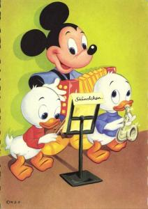Walt Disney Productions, Mickey Mouse, Dewey and Huey Duck (1960s)