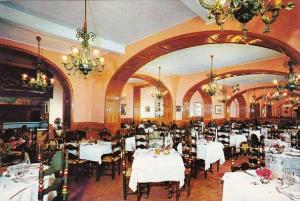 Spain Figueras Hotel Duran Restaurant Interior