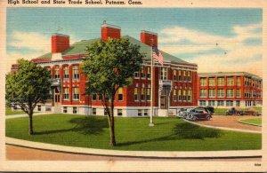 Connecticut Putnam High School and State Trade School 1948