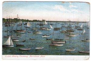Marblehead, Mass, Harbor showing Causeway