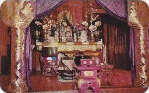 Hawaii Kona Buddhist Altar Daifukuji Kealakekua Curteich