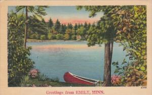 Minnesota Greetings From Emily 1946