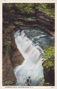 New York Watkins Glen Diamond Falls 1927