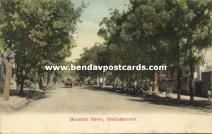 south africa, GRAHAMSTOWN, Beaufort Street (1905)