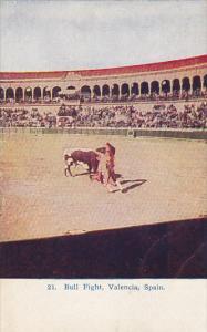 Bull Fight In Valencia Spain