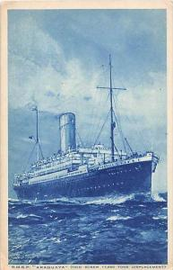 R.M.S. P. Araguaya -  Royal Mail Steam Packet Co.