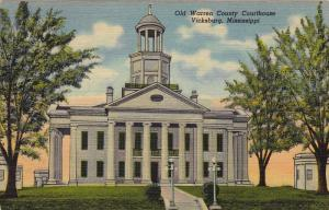 Old Warren County Courthouse, Vicksburg, Mississippi, 30-40s