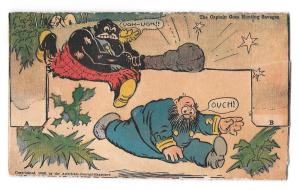 Katzenjammer Captain Moving Picture Vintage Comic Postcard