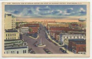 Morgan Square, Spartanburg, South Carolina, 30-40s