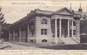 Exterior, Science Building, Springfield, Massachusetts, PU-1912
