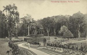 ceylon, KANDY, Peradeniya Gardens (1910s)