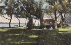 Boat House at Lakeland - Cazenovia NY, New York - pm 1912 - DB