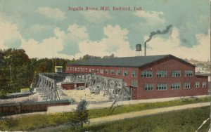 BEDFORD , Indiana, 1900-10s ; Ingalls Stone Mill