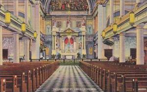 Louisiana New Orlean Interior Of Saint Louis Cathedral