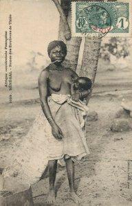 Africa Afrique occidentale Francaise Senegal Nones des Environs De Thies  03.74