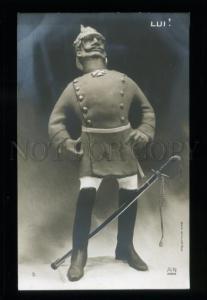 137499 Caricature LUI Wilhelm II German Emperor GIRIS artist
