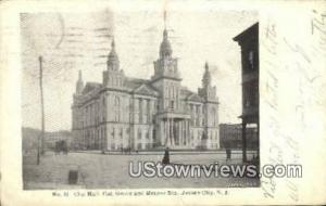 City Hall Jersey City NJ 1906
