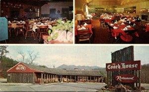 North Carolina Black Mountain Coach House Restaurant 1973