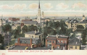 SAVANNAH , Georgia, 1900-10s ; View North from De Soto hotel
