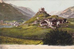 Schloss Tarasp, Graubünden, Switzerland, 1900-1910s