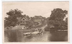 Eccleston Ferry Boat Chester Cheshire England UK 1910s postcard