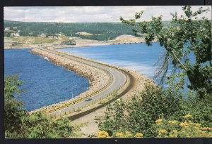 NS CANSO CAUSEWAY connecting Island of Cape Breton Mainland pm1959 -1950s-1970s