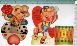 2 - Valentine, Cowboy & Drummer Boy