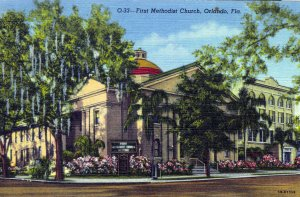 [ Linen ] US Florida Orlando - First Methodist Church