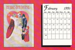 February 1993 Limited Editon Calendar Card