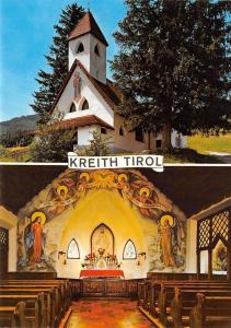 Kreith Tirol Herz Jesu Kirche Gemaelde von Ernst Nepo Church Interior