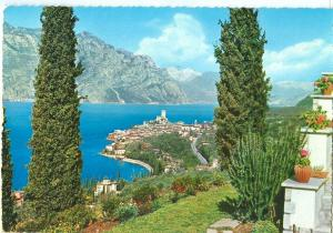 Italy, Lago di Garda, Malcesine, 1966 used Postcard