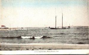Maine Wells Beach Crossing The Bar 1920
