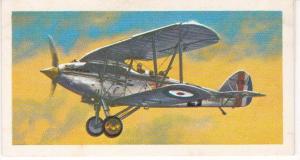 Trade Card Brooke Bond Tea History of Aviation black back reprint No 15 Hawker