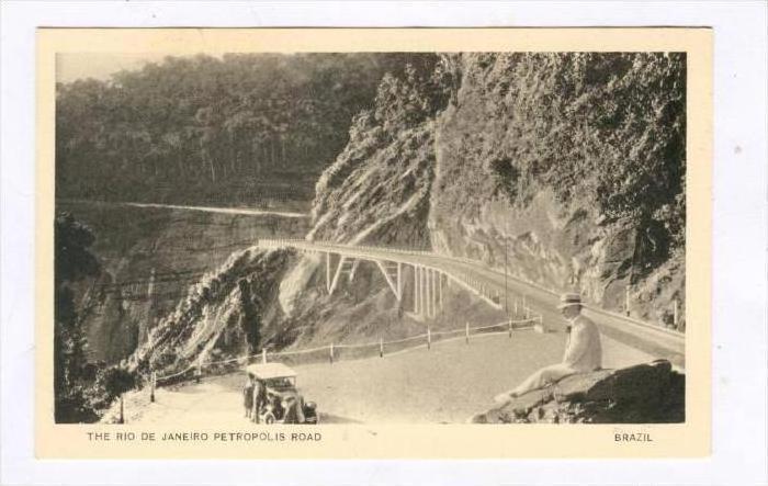 Rio de Janeiro - Petropolis Road, Brazil, 1910-30s