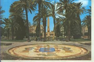 Postal 014271: Plaza de Espa? de Melilla con el escudo de la ciudad